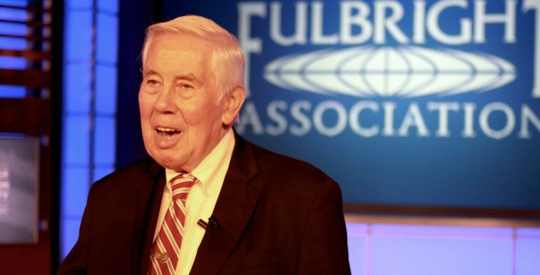 Celebrating the Life of Fulbright Prize Laureate Richard Lugar